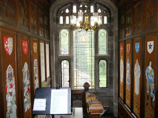 Whalley Abbey: The stairwell