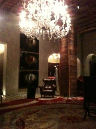 Very cool lobby at The Gramercy Park Hotel