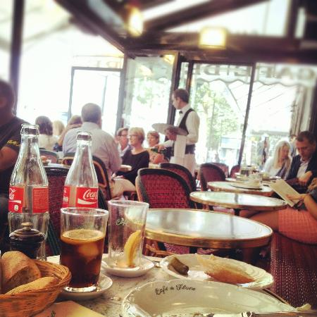 Café de Flore : Lovely atmosphere