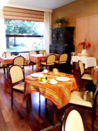 Hostellerie Saint-Antoine : 朝食会場