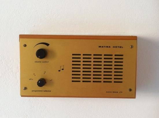 Hotel Matina: music