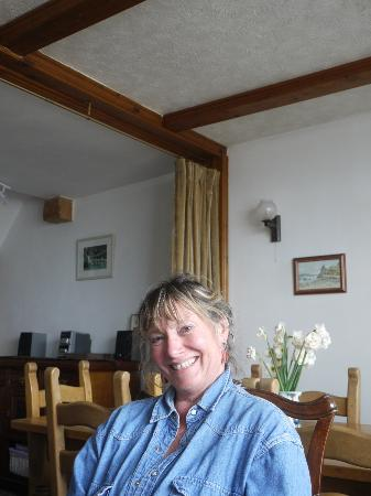 Harbour View Guest House: Die liebenswerte Joy Collinson