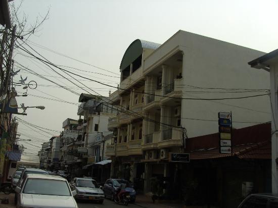 Pangkham Guesthouse: Zimmeraussicht