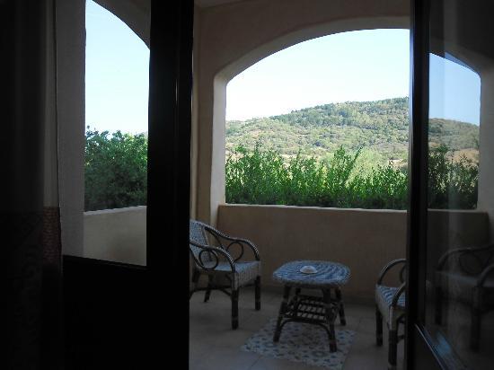 Maria Caderina Green Village: Terrasse de la chambre