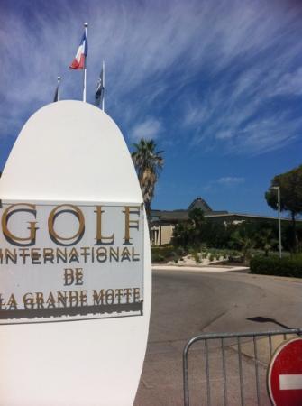 Golf de la Grande-Motte : entrée du golf