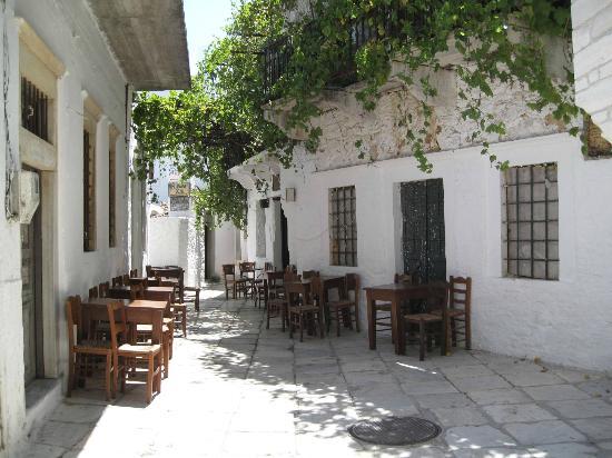 Camara Hotel: Aperathos village 