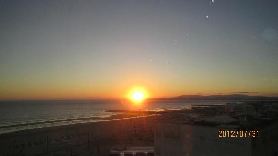 Restaurante Horizonte : Sunset from the restaurant
