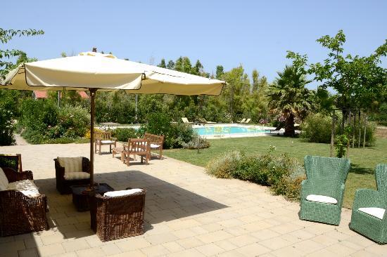 Wine Resort Leda' d'Ittiri: the pool and the terrace