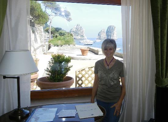 Hotel Diva La Canzone del Mare: Vista da suite Gracie Fields