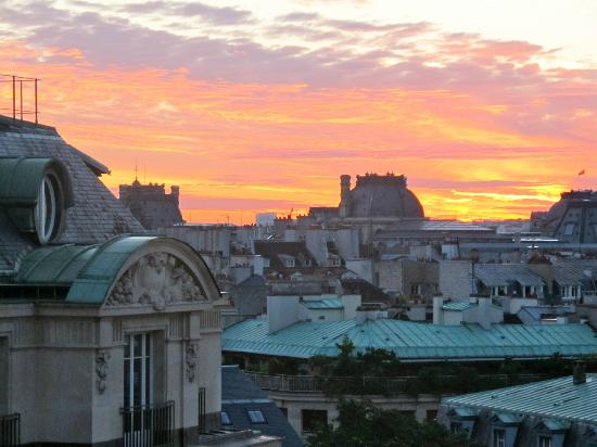 Hotel Pont Royal: View from room - all of Paris!