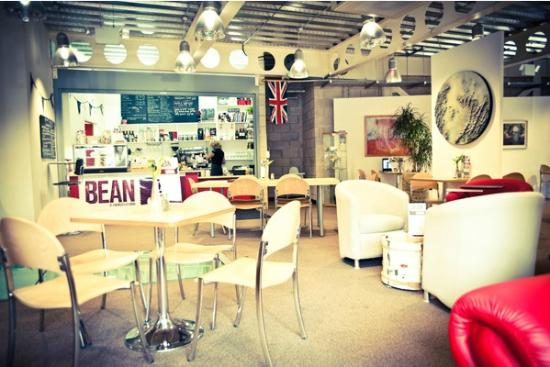 Bean Caffe: The cafe space