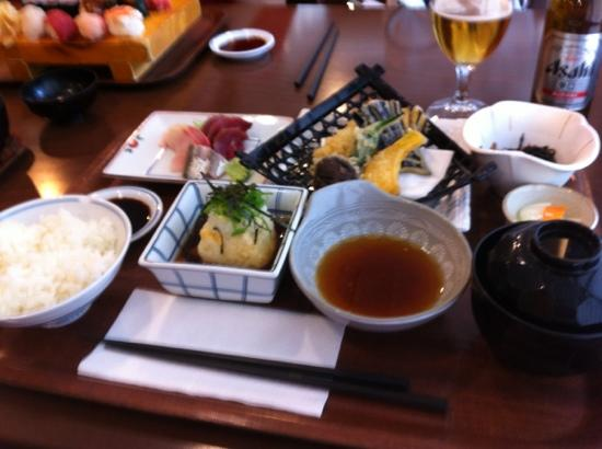 yabase lunch menu