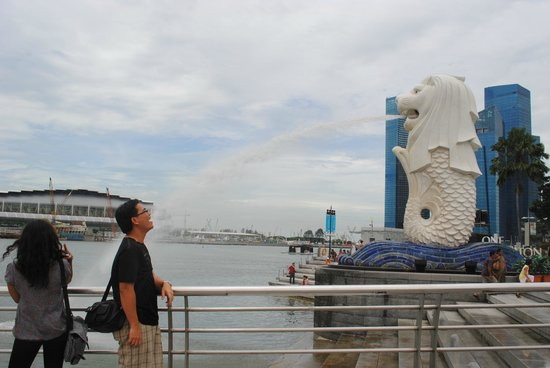 Fragrance Hotel - Bugis: merlion