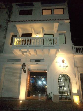 Hotel Portal de San Diego: Fachada