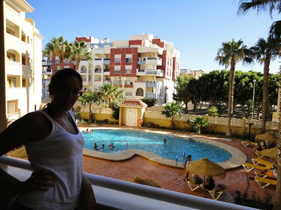 Foto tomada desde la terraza picture of apartamentos maracay roquetas de mar tripadvisor - Tripadvisor apartamentos ...