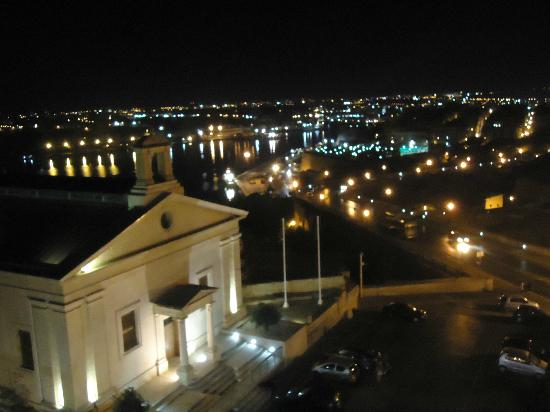 Castille Hotel: View from Roof Top Restaurant
