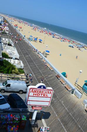 Americana Hotel: Ocean View