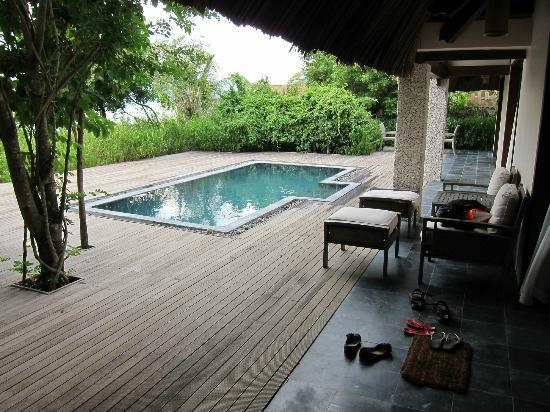 L'Alyana Villas Ninh Van Bay: Vores egen private pool lige udenfor døren