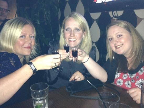 bar room bar: shots at BRB