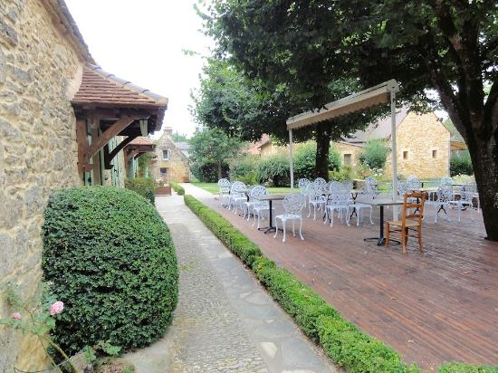 Hotel de la Ferme Lamy: Terrasse