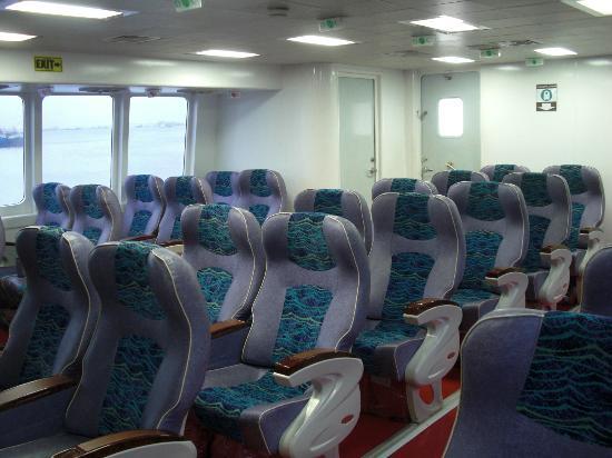 Bohol Island One Day Tour - PTN Travel Corp: ビジネスの座席(高速艇)