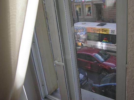Kristoff Hotel: Трафик на Загородном пр-те
