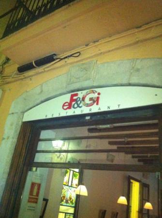 eF & Gi Restaurant: entrance