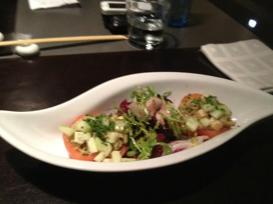 Matsu : Ensalada de tomate de montserrat