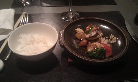 Matsu : Pollo con patatas