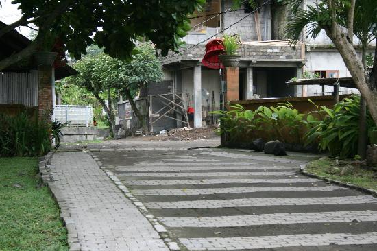 d'Omah Hotel Bali: hotel wiews