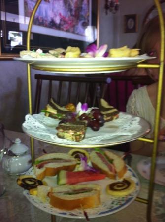 Royal Tea Room : tea sandwiches, Mother's day tea