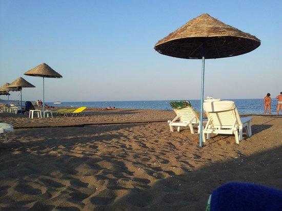 Pegasos Deluxe Beach Hotel: Spiaggia
