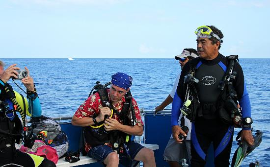 Scuba Club Cozumel: Good Dive Master Detail