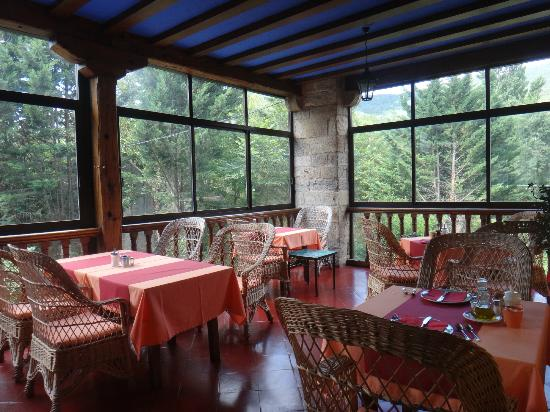 Hotel Ibaiondo: One of the dining areas