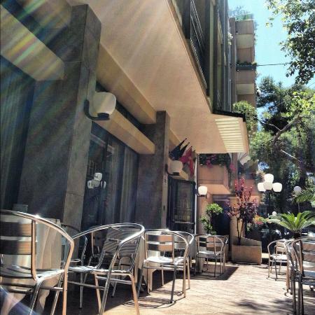 Hotel Labrador: terrazzo