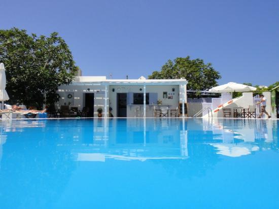 Pelagos Hotel-Oia: Poolside