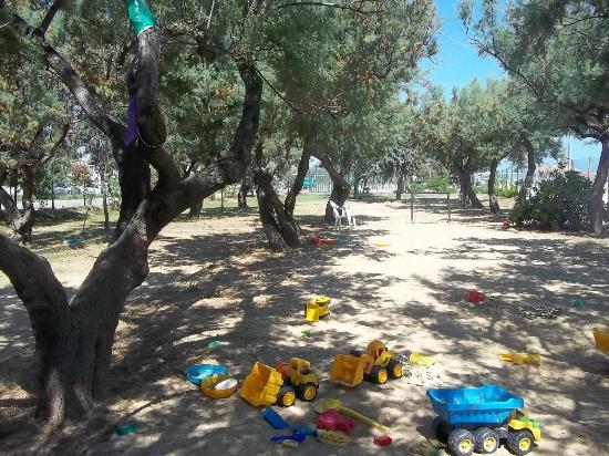 Pineto, Ιταλία: la piccola pinetina sul mare per i piccoli ospiti