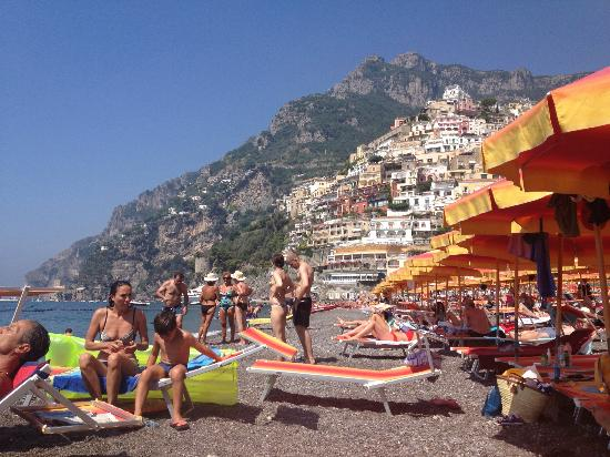 Villa Rosa: Positano beach