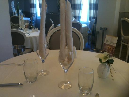 La Colombe : table