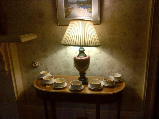 The Ardilaun Hotel: Una delle sale da te o lettura o aperitivo