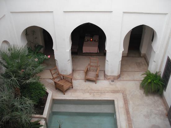 Dar Assoura : The internal courtyard