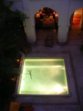 Dar Assoura : The internal courtyard/plunge basin