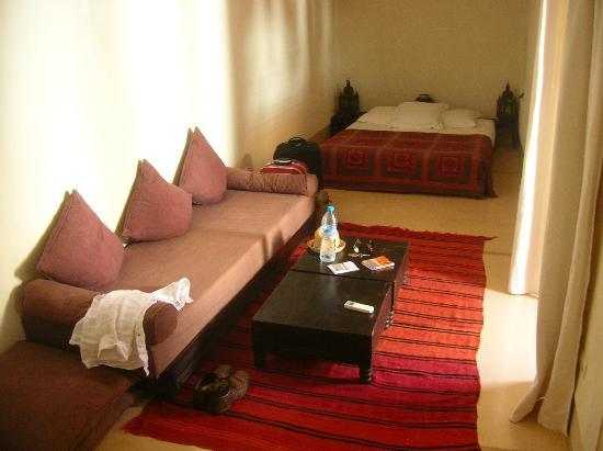 """Dar Assoura : The """"chimney"""" room"""