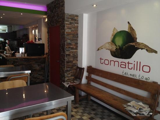 Tomatillo Tex-Mex To Go: interior