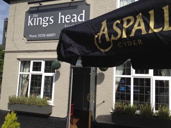 Kings Head Public House: Aspall at the Kings Head