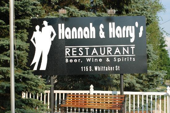 Hannah's & Harry's : Hannah & Harry's Restaurant
