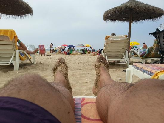 Ислантилла, Испания: playa hotel