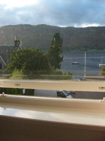 Cruachan Hotel: View from room ..