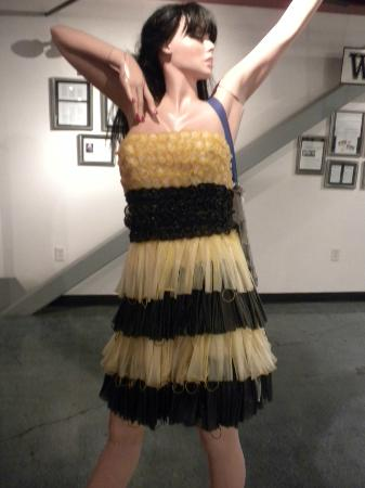 Erotic Heritage Museum, Las Vegas : Condom Dress