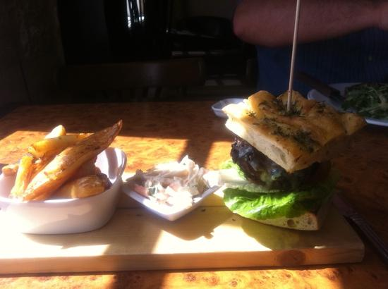 Vaughan's : rump steak burger